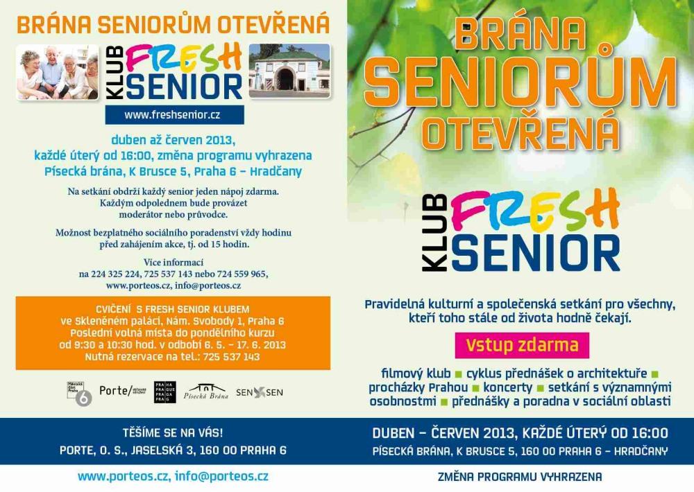 Senior online poradenství